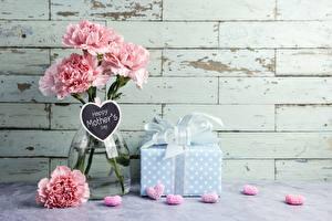 Bilder Nelken Vase Geschenke mother's day