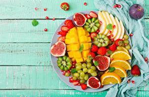 Hintergrundbilder Obst Mango Echte Feige Orange Frucht Kiwi