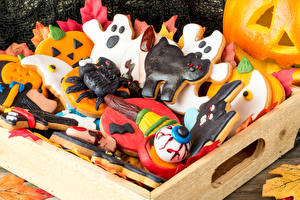 Pictures Holidays Halloween Baking Cookies Design Food