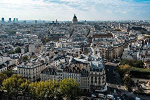 Images Houses France From above Paris Cities