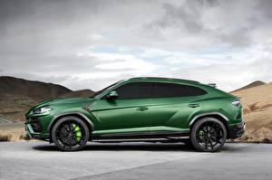 Pictures Lamborghini Green Side 2018 TopCar Urus auto