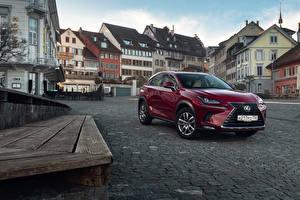 Bilder Lexus Bordeauxrot Metallisch 2018 NX 200 CIS-spec Autos