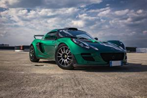 Picture Lotus Green Exige CUP300 automobile