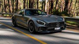 Pictures Mercedes-Benz Grey Motion Coupe AMG 2018 GT R automobile