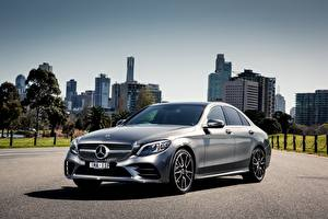 Image Mercedes-Benz Silver color AMG C-class W205