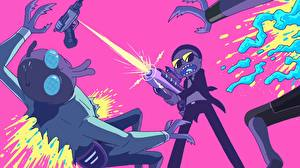 Images Firing Boys Aliens Rick and Morty Cartoons