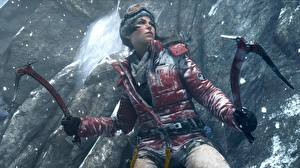 Picture Rise of the Tomb Raider Lara Croft Jacket Climber 3D_Graphics Girls