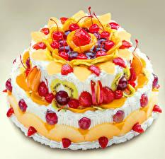 Hintergrundbilder Süßigkeiten Torte Erdbeeren Kirsche Design Lebensmittel