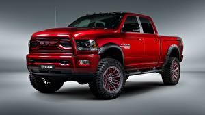 Fotos Dodge Rot Pick-up 2018 Ram 2500 Apache Customz Trucks Autos