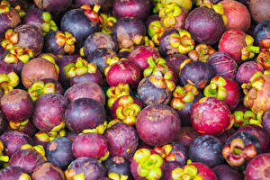 Hintergrundbilder Obst Viel Mangosteen Lebensmittel