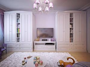 Bilder Innenarchitektur Kinderzimmer Spielzeug Design Teppich Lüster