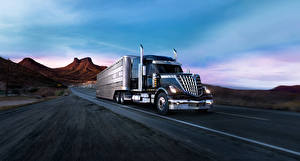 Pictures International Trucks Moving 2018 LoneStar automobile