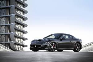 Picture Maserati Pininfarina Grey Automobile 2013-17 GranTurismo MC Stradale Worldwide Pininfarina Cars
