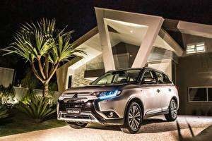 Hintergrundbilder Mitsubishi Crossover 2018 Outlander HPE-S Latam