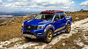 Bilder Nissan Blau Pick-up Concept 2018 Sentinel Frontier