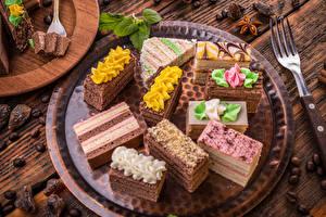 Fotos Süßigkeiten Törtchen Lebensmittel