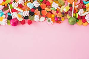 Hintergrundbilder Süßigkeiten Dauerlutscher Bonbon Marmelade Rosa Hintergrund