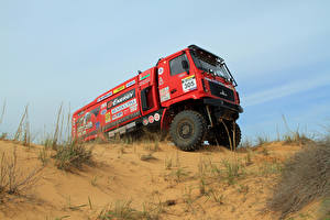 Pictures Lorry Tuning Red 2014-18 MAZ-5309RR Cars