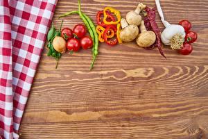 Hintergrundbilder Gemüse Tomaten Paprika Knoblauch Pilze