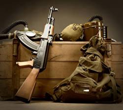 Fotos Sturmgewehr AK Militär