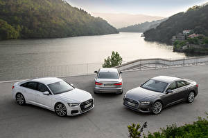 Pictures Audi Three 3 2018 A6 Cars