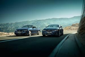 Photo BMW 2 At speed 2017 Alpina B4 S Bi-Turbo Coupe Alpina B4 S Bi-Turbo Cabrio Cars