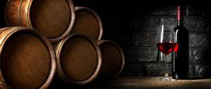 Wallpaper Barrel Wine Bottle Stemware