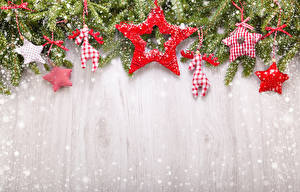 Wallpaper Christmas Deer Branches Snow Star decoration