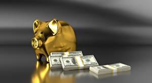 Fotos Dollars Geld Geldscheine