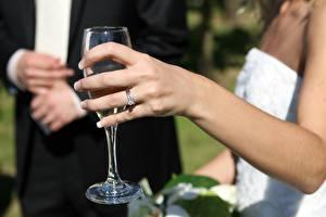 Bilder Finger Großansicht Hand Ring Weinglas