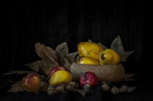 Fotos Obst Äpfel Schalenobst Blatt Lebensmittel