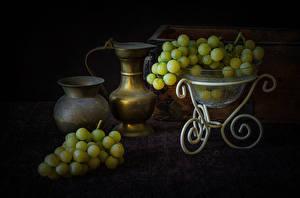 Fotos Weintraube Kanne