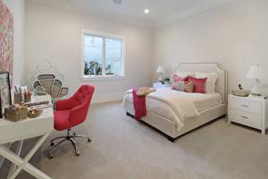 Pictures Interior Design Bedroom Bed Armchair