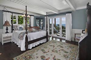 Picture Interior Design Bedroom Bed Carpet Lamp