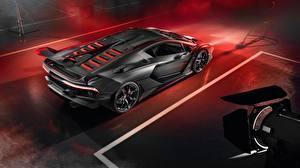 Wallpaper Lamborghini Reinforced polymer plastic 2018 Aventador SC18 Alston