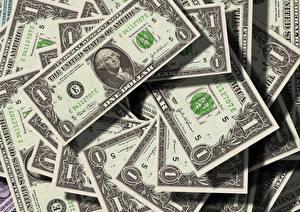 Bilder Geld Dollars Papiergeld Großansicht