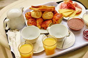Image Pastry Juice Kettle Breakfast Cup Highball glass Tray Food