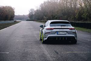 Bilder Porsche Hinten Panamera Turbo 2018 TechArt Grand GT Autos