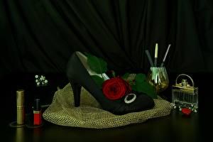 Pictures Roses Stilettos Perfume
