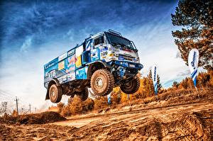 Pictures Lorry KAMAZ HDRI 309 SilkWay Dakar automobile