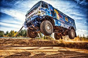 Wallpapers Trucks KAMAZ HDR 309 SilkWay Dakar Cars