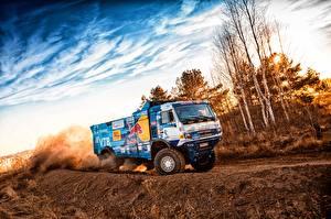 Image Lorry KAMAZ Driving 309 SilkWay Dakar