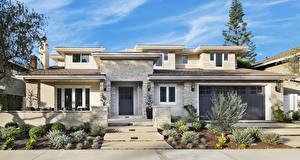 Fotos Vereinigte Staaten Gebäude Eigenheim Design Garage Newport Beach