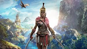 Picture Warriors Assassin's Creed Odyssey Helmet Girls