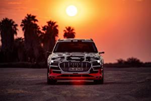 Pictures Audi Front 2018 E-Tron Prototype