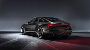 Image Audi Back view Concept 2018 E-Tron GT automobile
