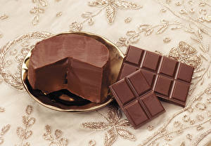 Bilder Schokolade Schokoladentafel Öle Teller Lebensmittel