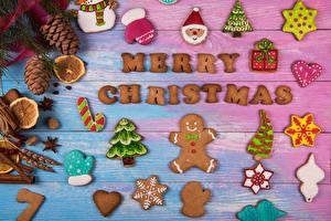 Bilder Neujahr Kekse Bretter Design Zapfen Weihnachtsmann Fausthandschuhe Weihnachtsbaum Lebensmittel