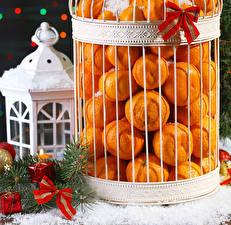 Wallpapers Christmas Mandarine Many Present