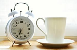 Bilder Uhr Zifferblatt Wecker Morgen Becher